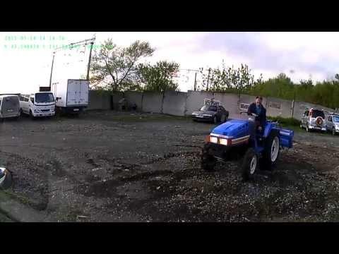обзор тест трактор Iseki TU225F, www.jpstyle.ru - japanese tractor