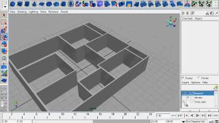 preview picture of video 'maya tutorial house modelling pt.1'