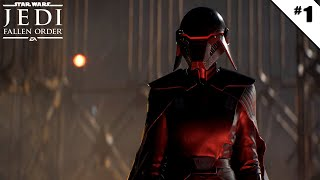 Star Wars Jedi: Fallen Order - Ep 1 - Déjà chassé - Let's Play FR HD