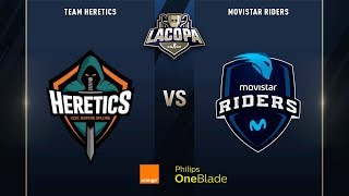 Team Heretics VS Movistar Riders | Final | La Copa 2019 - Playoffs