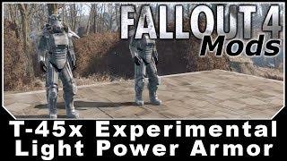 Fallout 4 Mods - T-45x Experimental Light Power Armor