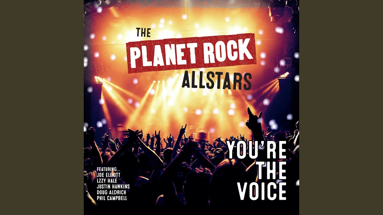 PLANET ROCK STARS - You're the voice