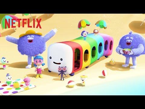 'The Wheels on Rainbow Bus' Sing Along! 🌈 | True and the Rainbow Kingdom | Netflix