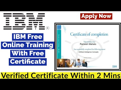 IBM Certified Free Training | IBM Free Online Courses with ...