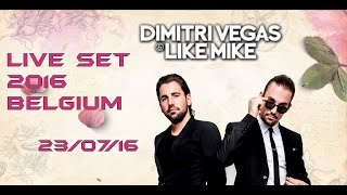 TOMORROWLAND 2016 Dimitri Vegas & Like Mike [LIVE - SET] High Quality Mp3 23/07/16