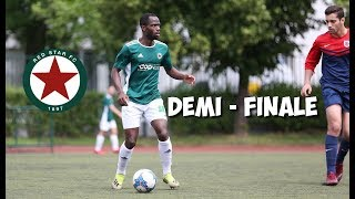 DEMI FINALE COUPE VS RED STAR ! YOUNES ET YASSINE EN MATCH REEL