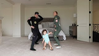 HILARIOUS DANCE CLASS WITH 1 YEAR OLD BABY!!!