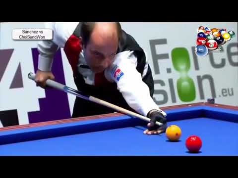 Highlight 3 Cushion 2017 Choi Sung Won vs Daniel Sanchez 3 쿠션 2017