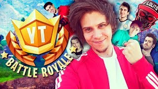 TORNEO PRESENCIAL 100 YOUTUBERS #YTBattleRoyale - Fortnite - elrubiusOMG - Video Youtube