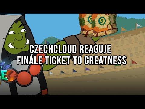 Czechcloud reaguje - Finále Ticket to Greatness