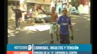 Incidentes Entre Hinchas De Godoy Cruz Y La U De Chile En Mendoza Acaestalahinchada.blogspot.com.ar