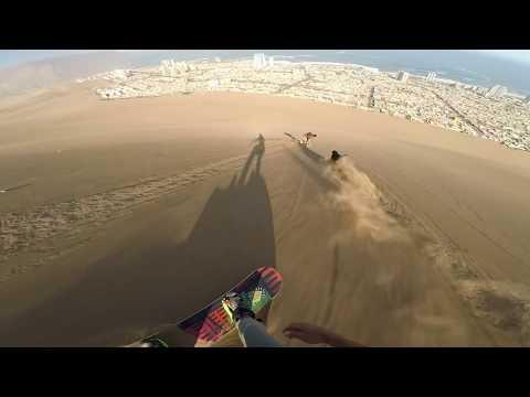 Холм Дракона в Чили — песчаные дюны Икике