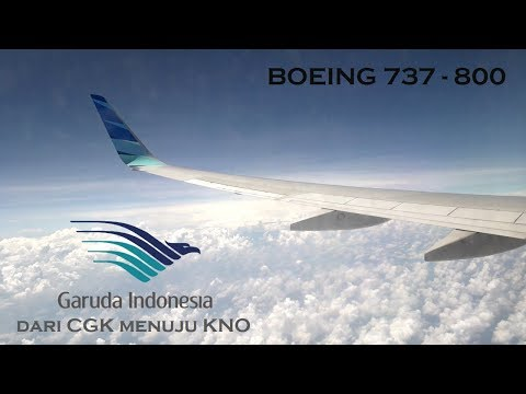 Fligt Trip bersama GARUDA INDONESIA dari JAKARTA menuju MEDAN