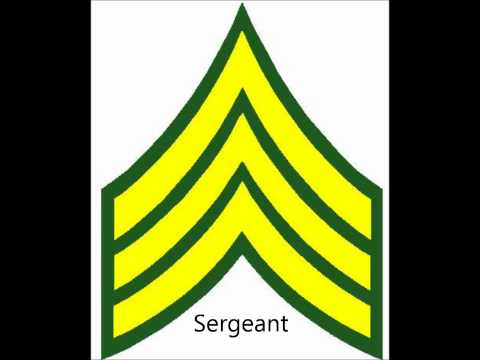 Enlisted And Nco Army Ranks Mp3