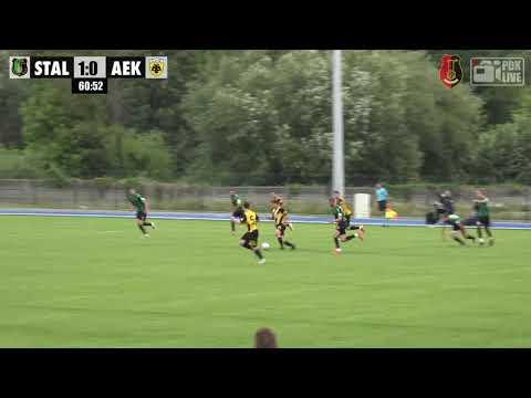 WIDEO: Stal Stalowa Wola - AEK Ateny 1-1 w sparingu [BRAMKI, SKRÓT MECZU]