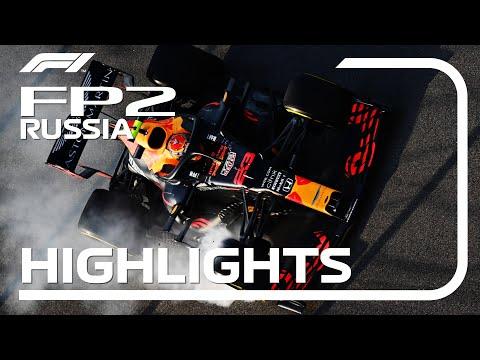 F1 ロシアGP フリープラクティス2のハイライト動画