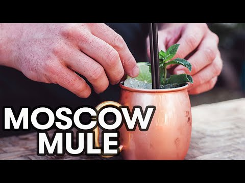 Video Moscow Mule Cocktail Recipe