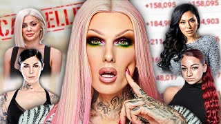 all the makeup brands Jeffree Star has DRAGGED..