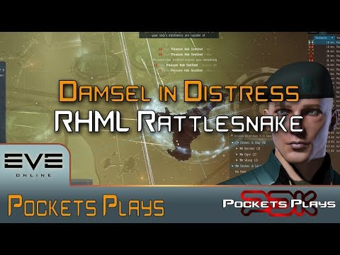 EVE Online: Damsel in Distress - RHML Rattlesnake fit