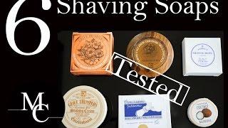 BESTE Rasierseife - welche RS ist die beste für deine Haut? - 6 Marken getestet