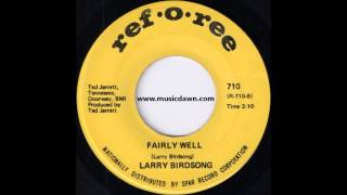 Larry Birdsong - Fairly Well [Ref-o-Ree] '1969 Soul Funk 45