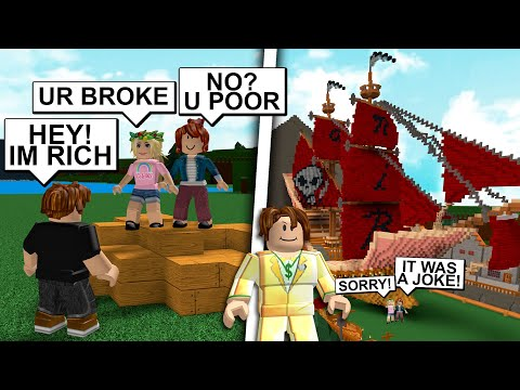 Gold Diggers EXPOSED With RICHEST player EVER Build a Boat