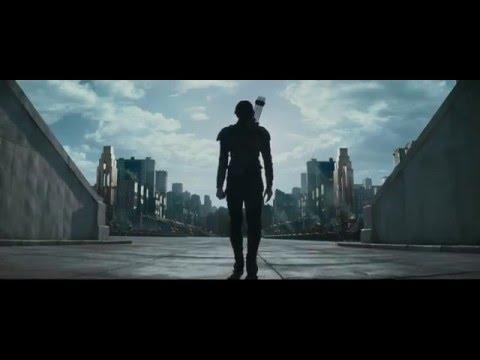 Katniss Everdeen kill President Alma Coin (The Hunger Games Mockingjay Part 2)