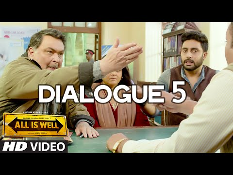All Is Well Dialogue - 'Pagal kisko Keh Raha Hai ?
