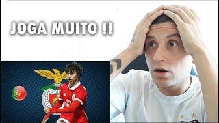 BRASILEIRO REAGINDO A JOAO FELIX   SL Benfica   Goals, Skills, Assists