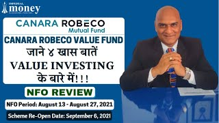 Canara Robeco Value Fund NFO Review Launched by Canara Robeco Mutual Fund