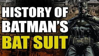 History of The Batsuit featuring Caped-Joel