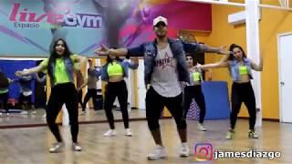 SE ACABO EL AMOR ( Abraham Mateo, Yandel y Jennifer Lopez) /JAMES DIAZ / ZUMBA FITNESS / JAMES DIAZ
