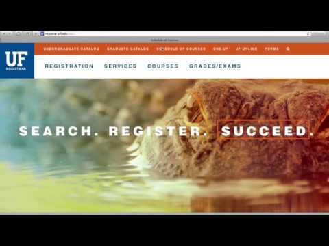 How to Find UF Online Courses - YouTube