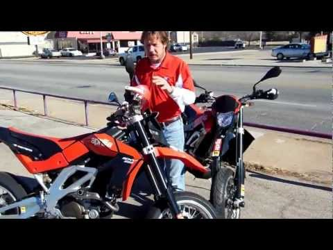 Brookside Motorcycle Company review Aprilia SXV5.5