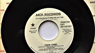 (If I'd Only Known) It Was The Last Time , Faron Young , 1980