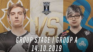 Highlights G2 vs C9 [Vòng Bảng][CKTG 2019][Bảng A][14.10.2019]