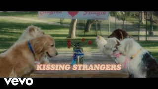 DNCE & Nicki Minaj - Kissing Strangers (Lyrics)