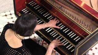 Haydn Harpsichord:Comparone plays Presto of Sonata in E-Flat Major, #52