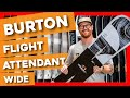 Burton Flight Attendant Wide Snowboard - video 1