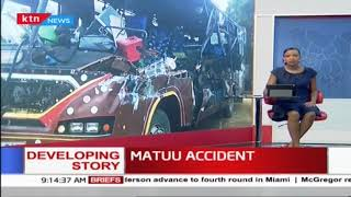 BREAKING NEWS: 14 people Killed in Bus accident in Mattu, Yatta police boss confirms