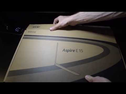 Acer Aspire E15 - E5-572G notebook pc unboxing!