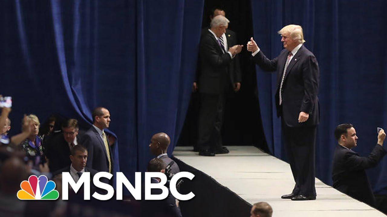 Donald Trump Campaign Elevates The Absurd   Rachel Maddow   MSNBC thumbnail