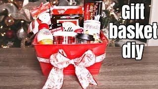 DIY Christmas Gift Basket | All Dollar Tree Supplies | 12 Days Of Kristmas (6)