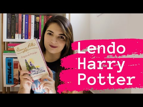 Lendo Harry Potter : Harry Potter e o Enigma do Príncipe - J.K. Rowling