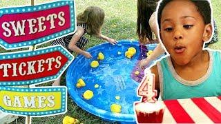 Zacs Carnival Birthday Party!