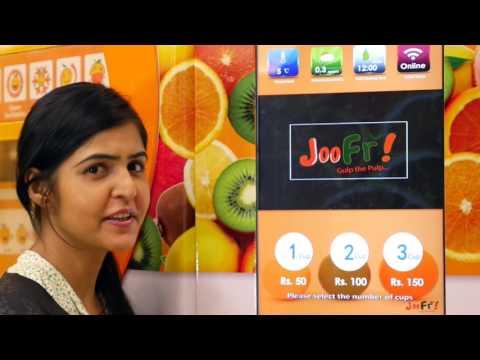 Corporate Video for juice machine