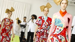 Pop of Color Took Center Stage at Delpozo