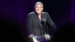 George Clooney Hosts Hollywood's Night Under the Stars