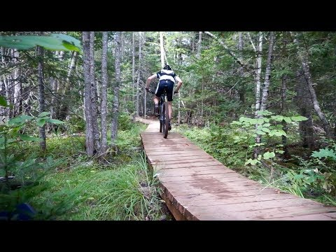I rode my Cyclocross Bike on a 2018 Canada Cup XCO MTB Course