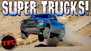 It's The Age Of The SUPER Truck! Raptor vs TRX vs Cyber Truck vs Rivian vs Hummer EV!